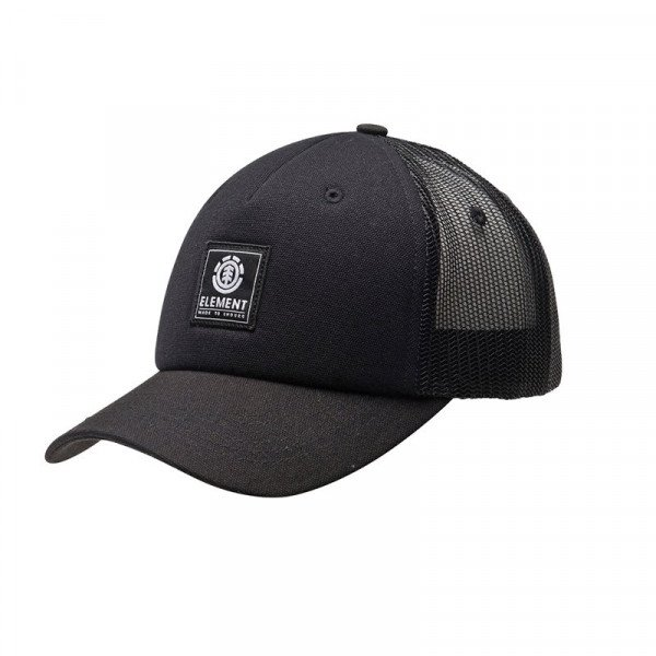 ELEMENT CEPURE ICON MESH CAP ALL BLACK S19