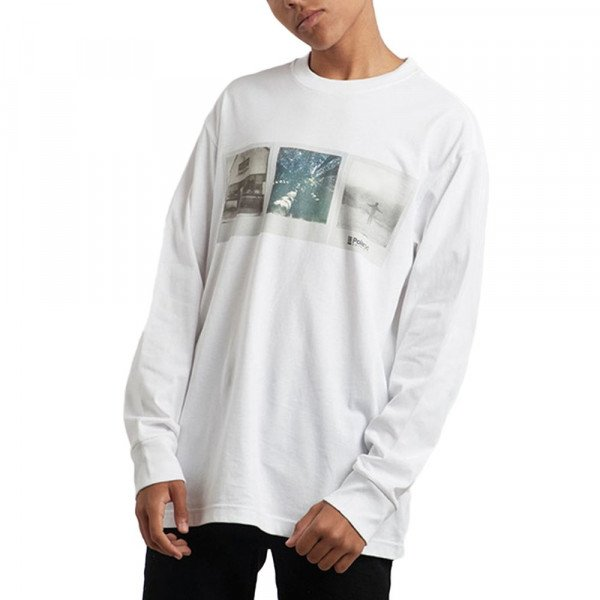 ELEMENT LONGSLEEVE BRANDON WESTGATE LS OPTIC WHITE S19