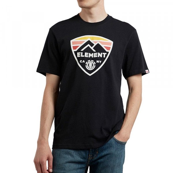 ELEMENT T-SHIRT GUARD SS FLINT BLACK S19