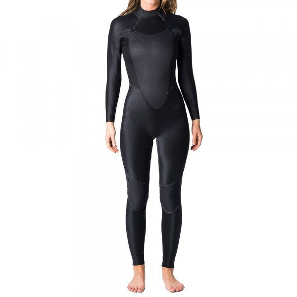 RIP CURL WETSUIT OMEGA 32 BACK ZIP W BLACK S19