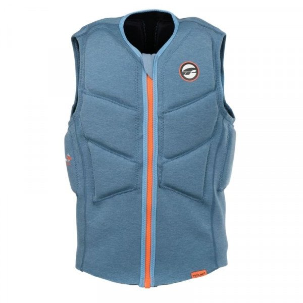 PROLIMIT VESTE STRETCH VEST XF HALF PADDED FZ GREY ORANGE S19