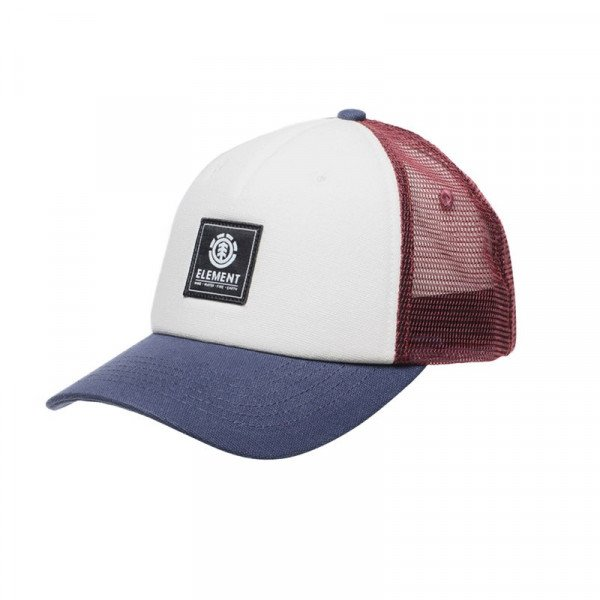 ELEMENT HAT ICON MESH CAP OXBLOOD RED S19