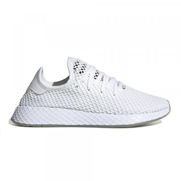 ADIDAS SHOES DEERUPT RUNNER WHITE CORE BLACK SESAME F19