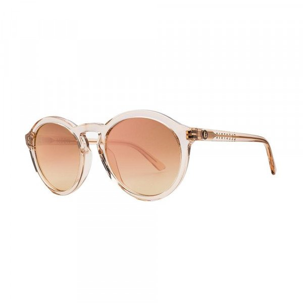 ELECTRIC SUNGLASSES MOON CRYSTAL NUDE/CHAMPAGNE CHROME GRADIENT