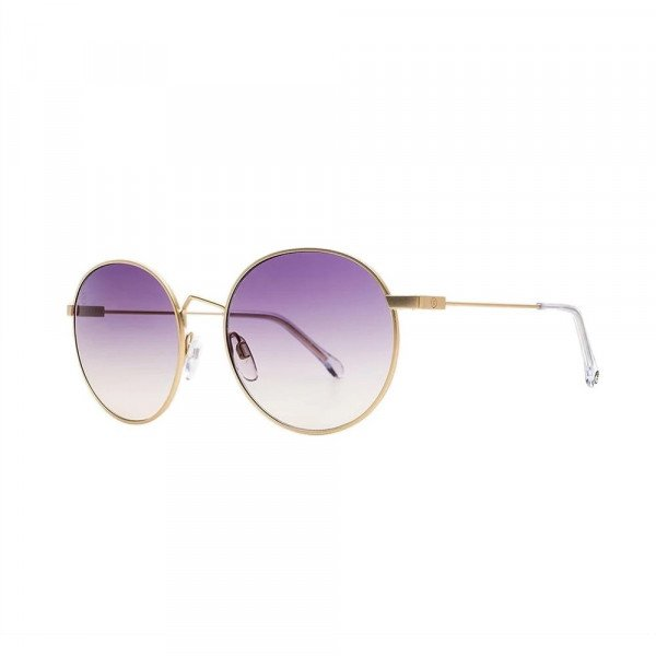 ELECTRIC SUNGLASSES HAMPTON LIGHT GOLD/PURPLE GRADIENT