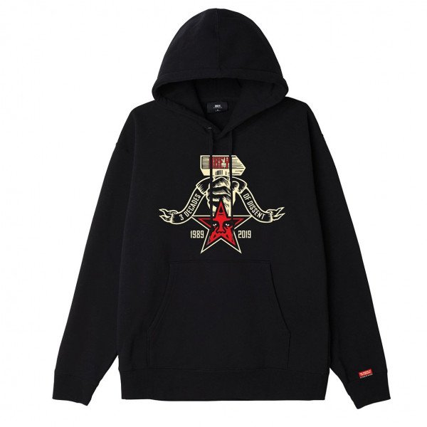 OBEY HOOD OBEY 3 DECADES OF DISSENT BLK F19