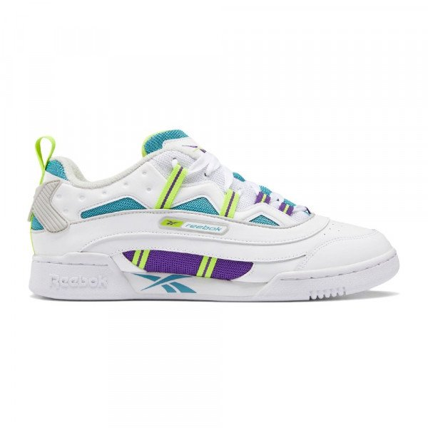 REEBOK APAVI WORKOUT PLUS RC 1.0 WHITE REGULAR PURPLE GREY F19
