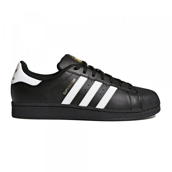 ADIDAS APAVI SUPERSTAR FOUNDATION CORE BLACK WHITE F19