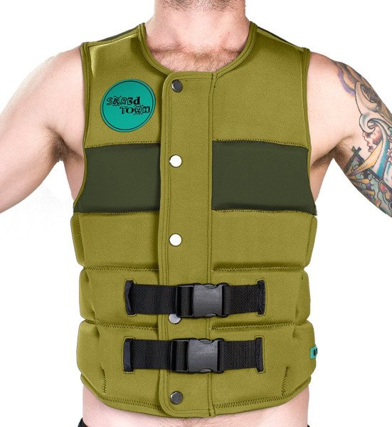 RIDE ENGINE VEST SHREDTOWN IMPACT VEST 2017 CYPRESS