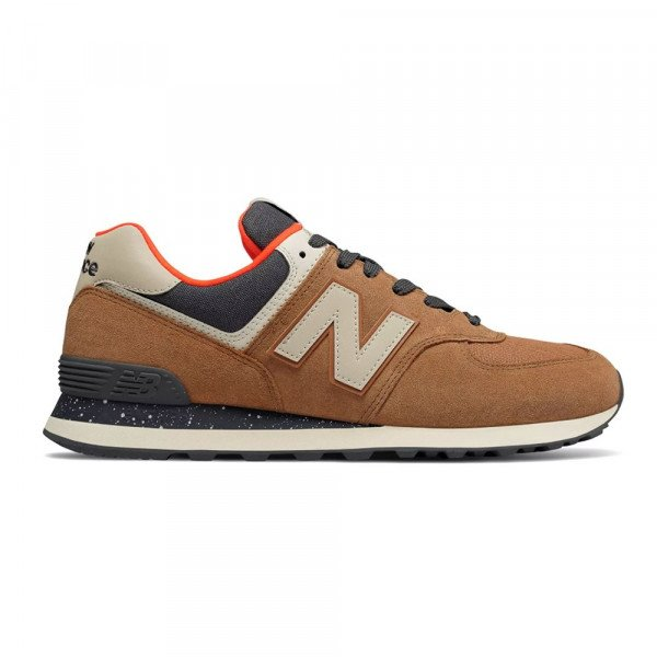 NEW BALANCE SHOES ML574 NBH BROWN F19