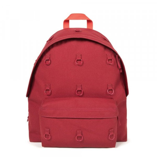 EASTPAK BACKPACK RS PADDED LOOP BURGUNDY ORANGE