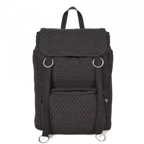 EASTPAK BACKPACK RS TOPLOAD LOOP BLACK MATLASSE