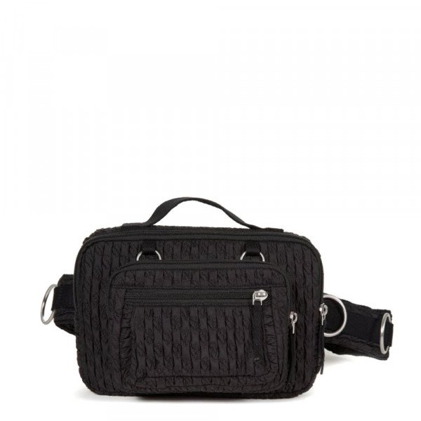 EASTPAK SOMA RS WAISTBAG LOOP BLACK MATLASSE