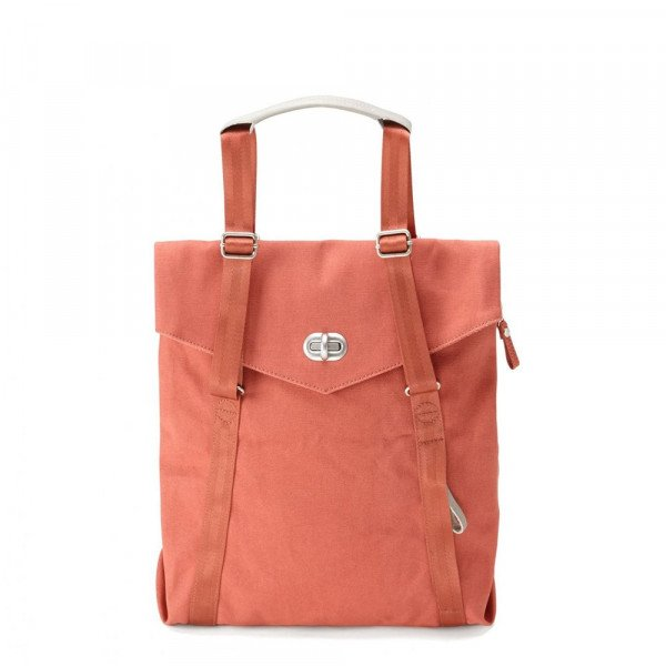 QWSTION BAG TOTE ORGANIC BRICK