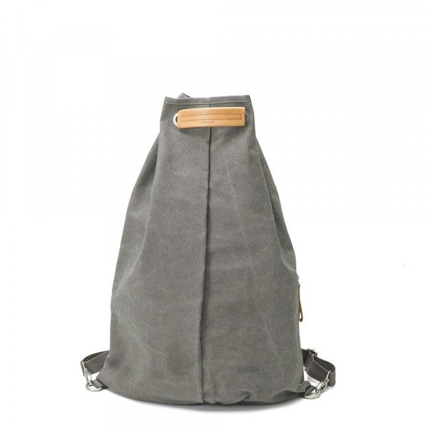 QWSTION SOMA SIMPLE BAG WASHED GREY