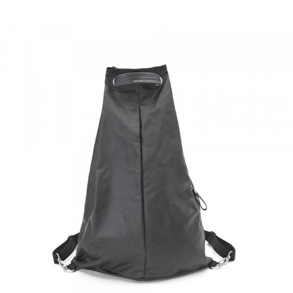 QWSTION SOMA SIMPLE BAG ORGANIC JET BLACK