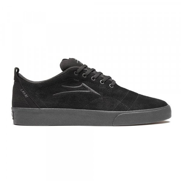 LAKAI SHOES BRISTOL BLACK BLACK SUEDE F19