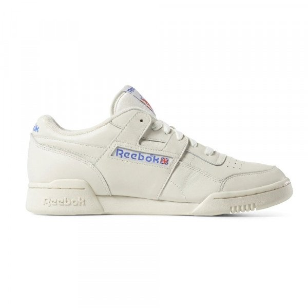 REEBOK SHOES WORKOUT PLUS 1987 CHALK PAPERWHITE ROYAL F19