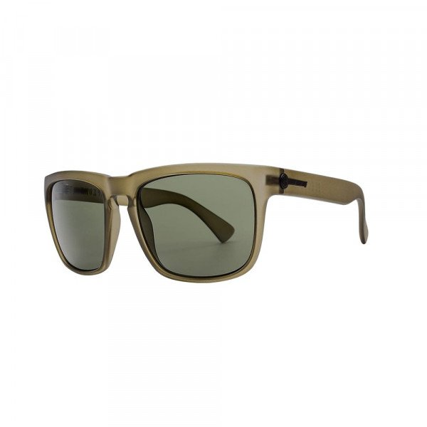ELECTRIC SUNGLASSES KNOXVILLE XL MATTE OLIVE/POLAR GREY