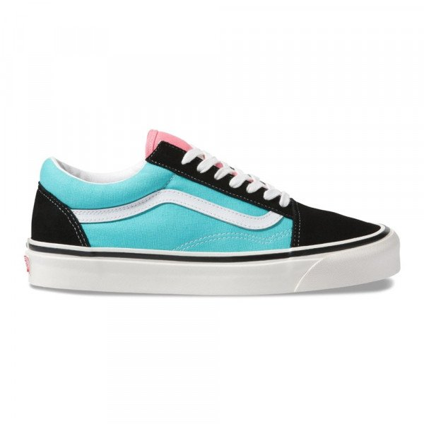 VANS SHOES OLD SKOOL 36 DX (ANAHEIM FACTORY) OG BLACK OG AQUA F19