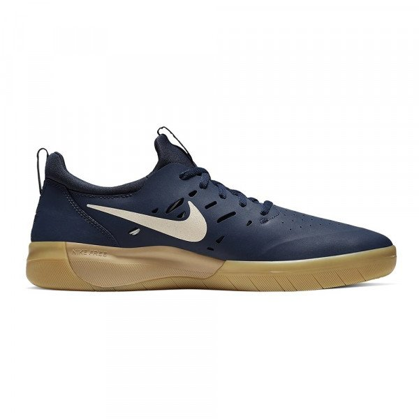 NIKE SHOES SB NYJAH FREE MIDNIGHT NAVY F19