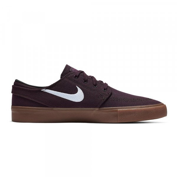 NIKE SHOES SB ZOOM JANOSKI CNVS RM MAHOGANY WHITE GUM LIGHT BROWN F19