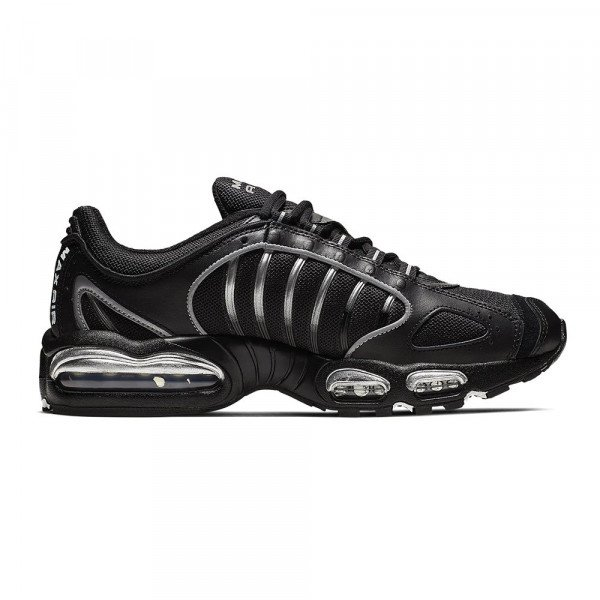 NIKE SHOES AIR MAX TAILWIND IV BLACK WHITE METALLIC SILVER F19