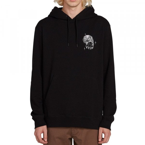 VOLCOM HOOD MIKE GIANT PULLOVER BLK F19