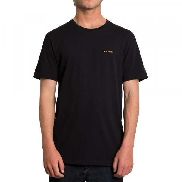 VOLCOM T-SHIRT CRASS BLANKS LTW SS BLK F19