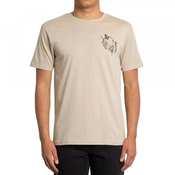 VOLCOM T-SHIRT MY WORLD HTH SS OAT F19
