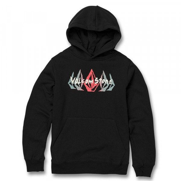 VOLCOM HOOD SUPPLY STONE P/O KIDS BLK F19
