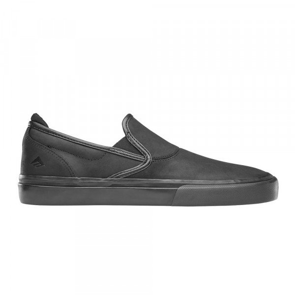 EMERICA SHOES WINO G6 SLIP ON BLACK BLACK F19