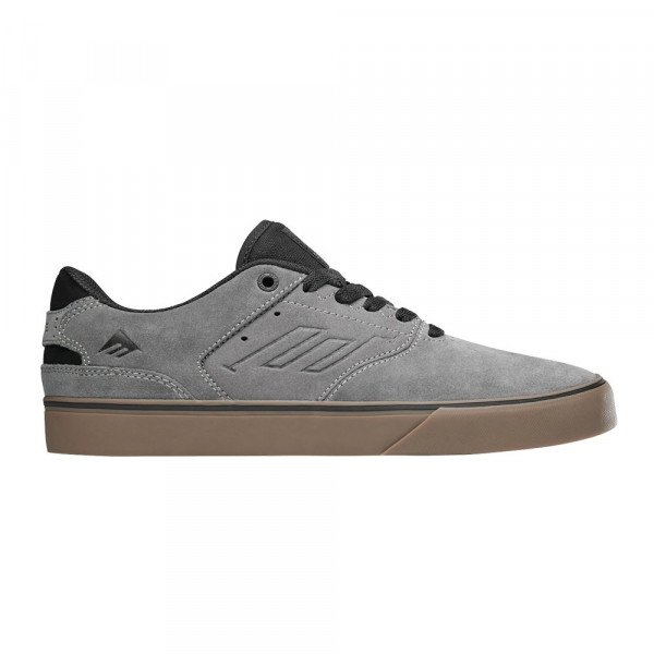 EMERICA APAVI REYNOLDS LOW VULC GREY BLACK GUM F19
