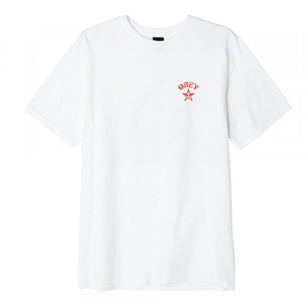 OBEY T-SHIRT OBEY TOKYO WHT F19