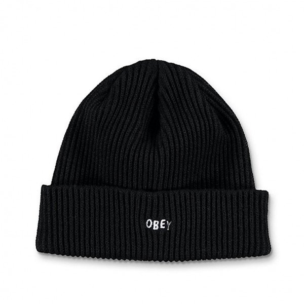 OBEY CEPURE HANGMAN BEANIE BLK F19