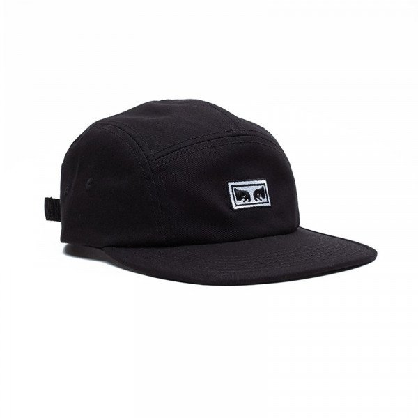 OBEY HAT EYES 5 PANEL HAT BLK F19