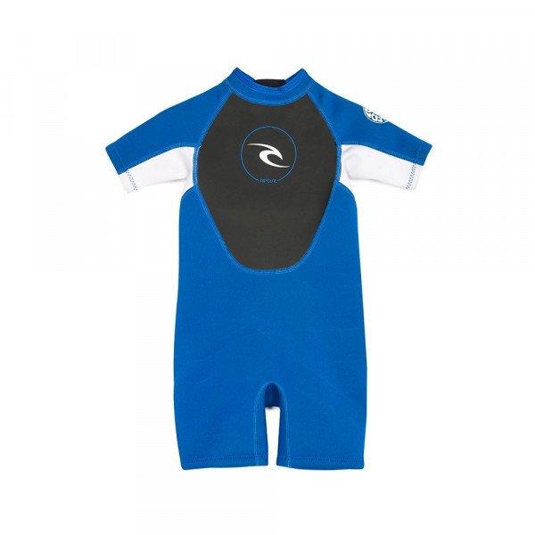 RIP CURL WETSUIT KIDS DAWN PATROL S/SL SPRING BLUE F19