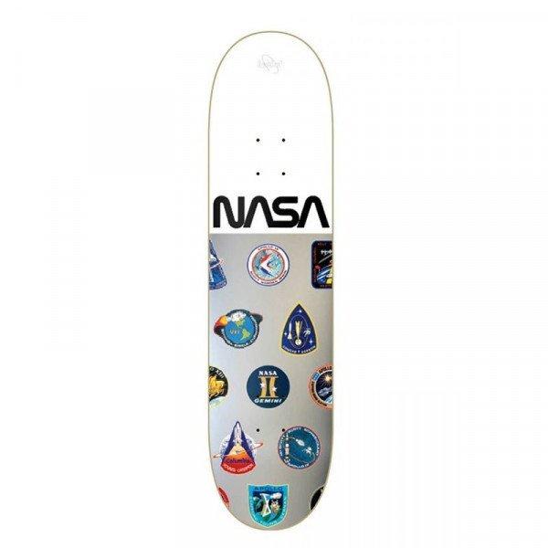 HABITAT DECK NASA SILVER WHITE FOIL 8 DECK