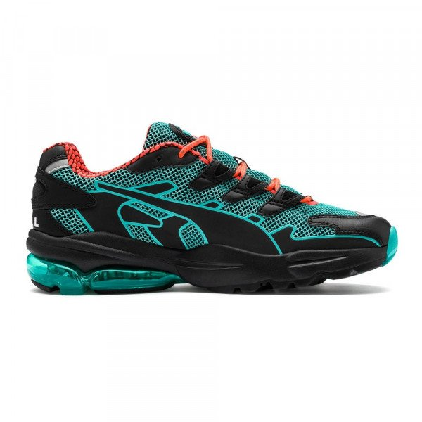 PUMA SHOES CELL ALIEN KOTTO PUMA BLACK TURQUOISE F19