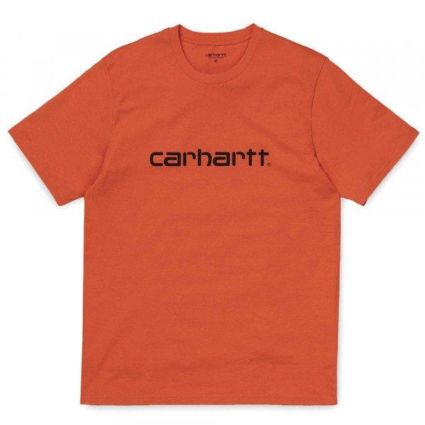 CARHARTT WIP T-SHIRT S/S SCRIPT PEPPER BLACK F19