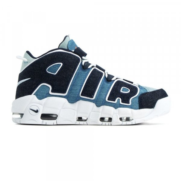 NIKE APAVI AIR MORE UPTEMPO '96 QS WHITE OBSIDIAN TOTAL ORANGE F19