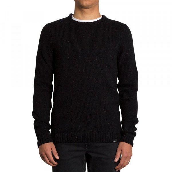 VOLCOM SWEATER EDMONDER SWEATER BLK F19