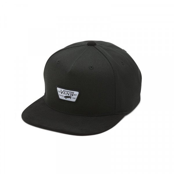 VANS CEPURE MINI FULL PATCH II SNAPBACK BLACK F19