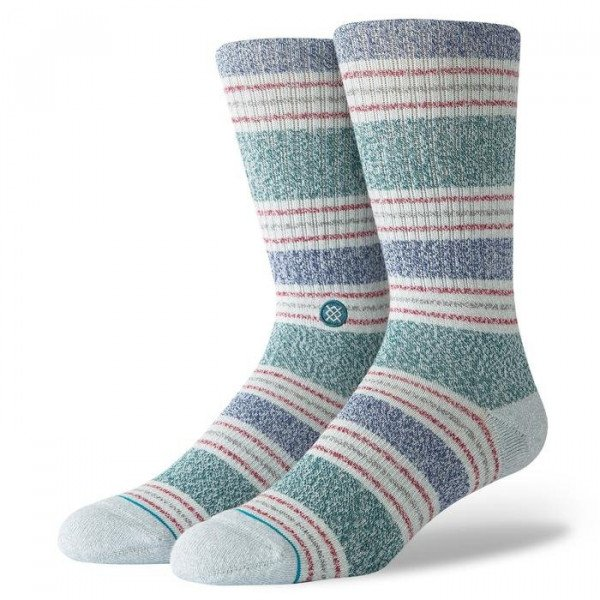 STANCE SOCKS BLUE FOUNDATION LESLEE GREY