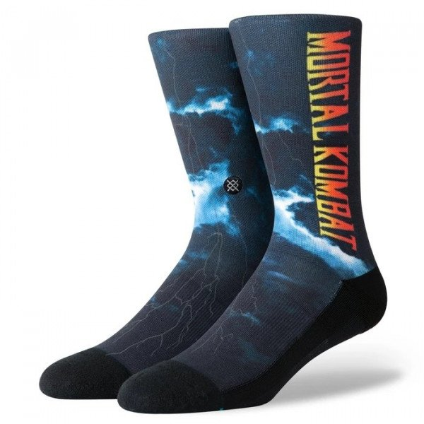 STANCE SOCKS BLUE FOUNDATION MORTAL KOMBAT II BLACK