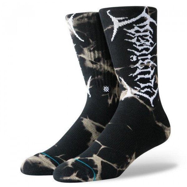 STANCE SOCKS ANTHEM UZI DYE BLACK