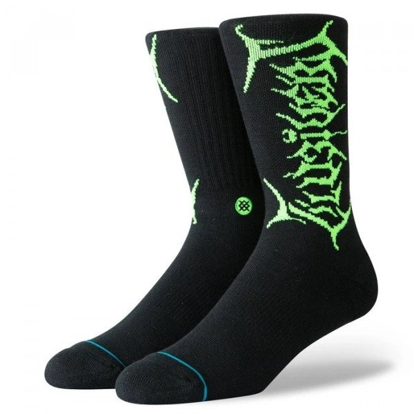 STANCE SOCKS ANTHEM UZI NEON BLACK
