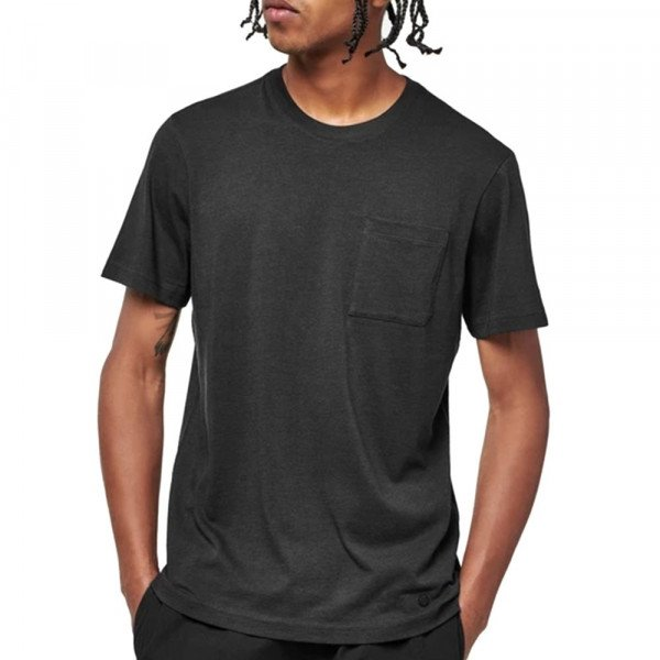 STANCE T-SHIRT M SHELTER POCKET T BLACK FADE F19