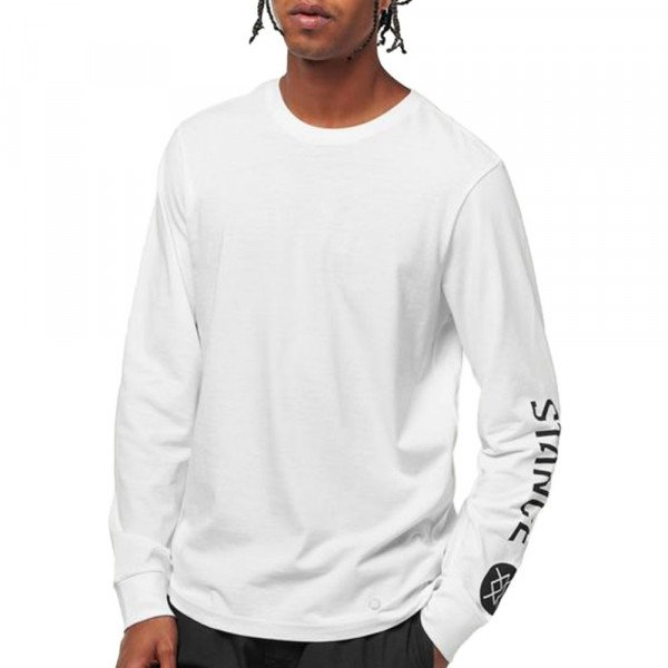 STANCE LONGSLEEVE BASIS L/S WHITE F19