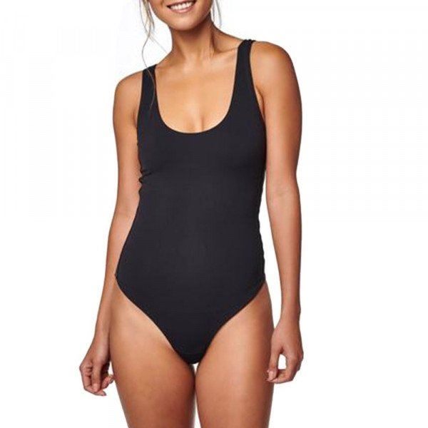 STANCE TOPS BODYSUIT THONG BLACK F19